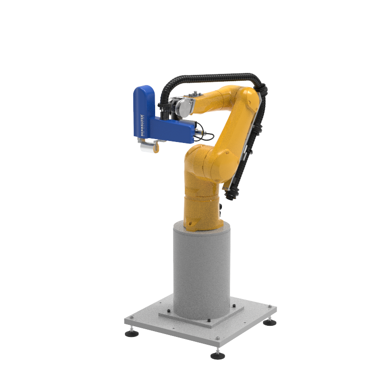 Automated Packaging Systems and Robotics Automation Die-Cutting Maschine
